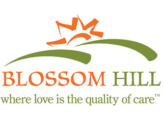 Blossom Hill logo, Spruce Communications