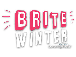 Brite Winter logo, Spruce Communications